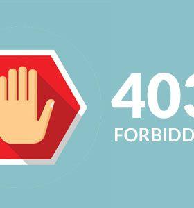 宁波网站设计开发-如何修复403